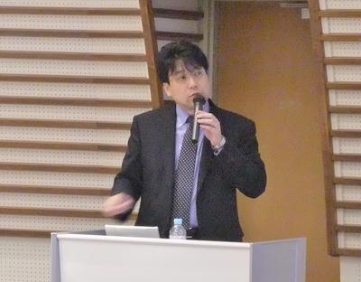 本多記念講演 講演中 20120319.JPG