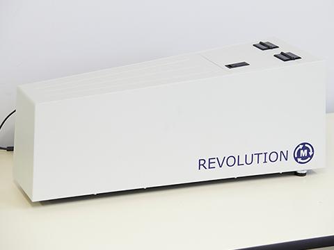 回転ドラム式粉末流動性測定装置 Revolution Powder analyzer
