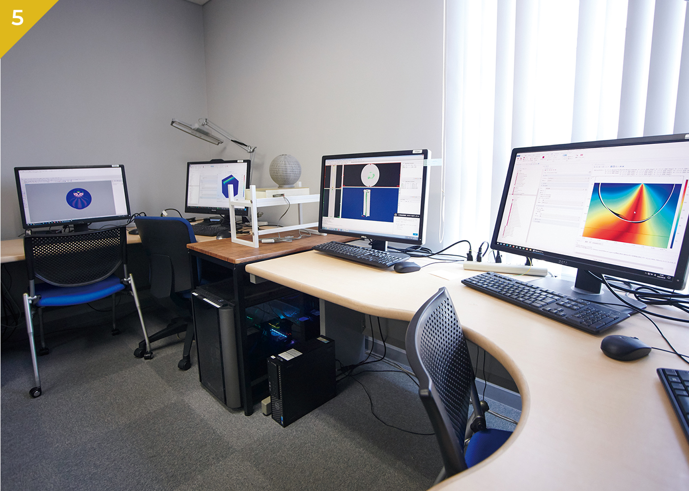 解析用PC室